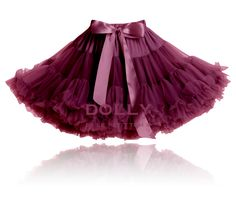 aubergine dolly skirt Heroic SUPERWOMAN
