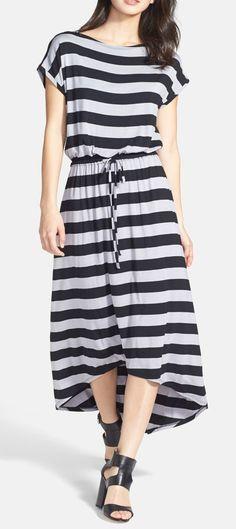 Caslon(R) High/Low Maxi Dress