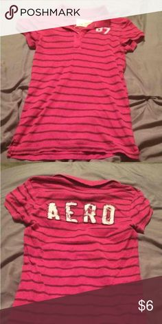 $3 Aeropostale Medium Shirt $3 a piece when you bundle 5 or more items!!! I have a ton of name brand women juniors men's boys and girls great deal!!! Aeropostale Tops