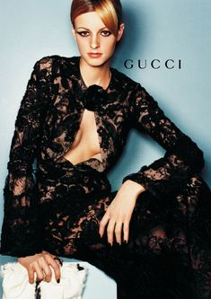 Jacquetta Wheeler by Mario Testino for Gucci F/W 1999  | lelaid