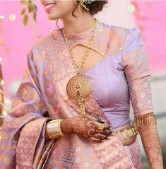 101 trending blouse designs for all occasions saree blouse patterns bling sparkle Modern Blouse Designs, Blouse Designs High Neck, Best Blouse Designs, Stylish Blouse Design, Silk Saree Blouse Designs, Choli Designs, Saree Blouse Patterns, Designer Blouse Patterns, Bridal Blouse Designs