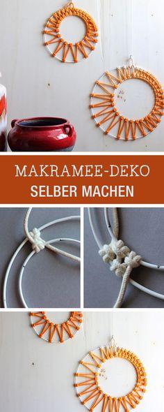 Makramee-Deko selbermachen / diy for makramee home decor via DaWanda.com