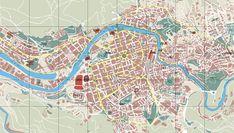 Basque Country, Bizkaia, Bilbao Map