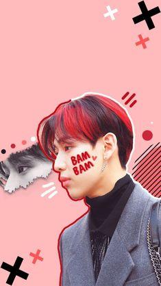 Read BamBam from the story Tapety Kpop i Pop by (E. Got 7 Wallpaper, Tumblr Wallpaper, Girls Girls Girls, Got7 Bambam, Youngjae, Just Right Got7, Double B, The Good Old Days, Kpop Aesthetic