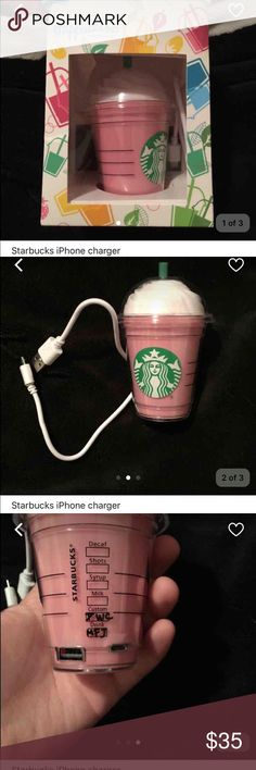 Starbucks iPhone charger Super cute Accessories Phone Cases