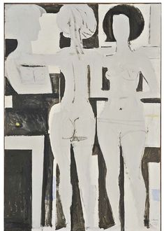 Γιάννης Μόραλης   Καλοκαίρι (1968) Street Art, Art Antique, Ecole Art, Illustrations, Figure Painting, Figurative Art, Sculpture Art, Sculptures, Les Oeuvres