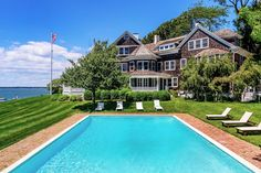 Tour a Landmark Shelter Island Estate with Sweeping Views over Peconic Bay