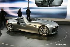 BMW vision connected concept - via Auto Guide (Geneva 2011) - pin by Alpine Concours