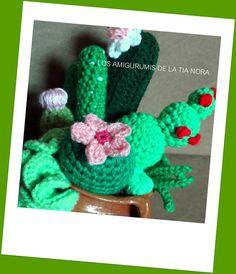 cactus crochet https://www.facebook.com/LosAmigurumisDeLaTiaNora/