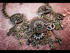 Steampunk Necklace Tutorial - http://steampunkvapemod.com/steampunk-necklace-tutorial/