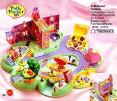 Polly Pocket (MATTEL) 1989 - 1997