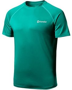TM-MTS03-FGN_X-Large j-2XL Tesla Men's HyperDri Cool T Shirt Sports Running Short Sleeve Athletic Top MTS03 - http://www.exercisejoy.com/tm-mts03-fgn_x-large-j-2xl-tesla-mens-hyperdri-cool-t-shirt-sports-running-short-sleeve-athletic-top-mts03/athletic-clothing/