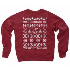 WSU Ugly Christmas Sweater #GoCougs #WSU #Christmas