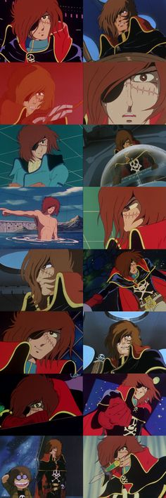 Captain Harlock....my dad loved this show!