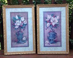 homco home interior pictures decor barbara mock magnolias collectible