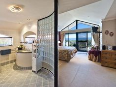 Interesting use of glass here while still retaining the ocean view.