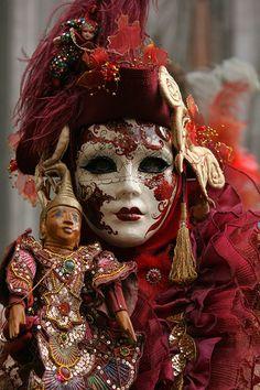 Gente del carnevale Venise| Flickr -