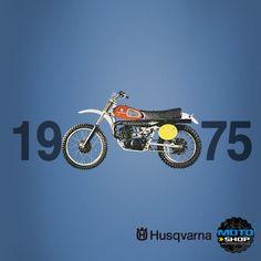 1975 Husqvarna - Vintage Dirt Bikes