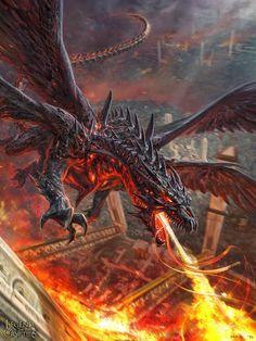 Zombie Dragon advanced by Bogdan Marika