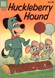 Huckleberry Hound Four (1958)  (Is that Pixie & Trixie with Huckeberry?)