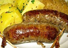 Jeden z klasických receptů na výrobu domácí jitrnice. Slovak Recipes, Czech Recipes, Do It Yourself Food, Pork Dishes, Smoking Meat, Food 52, Family Meals, Poultry, Sausage