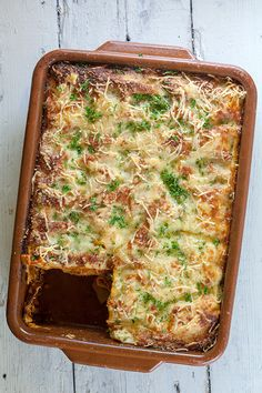 Web Server's Default Page Lasagna Bolognese, Slow Cooker Lasagna, Italian Recipes, Love Food, Easy Meals, Easy Recipes, Food And Drink, Yummy Food, Favorite Recipes