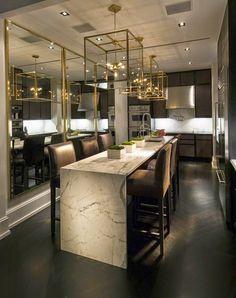 Decore com Gigi: O Luxo do Dourado & Bege.