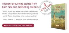 Looking for something thought provoking?  Check out our amazing Riveting Reads section on Harlequin.com