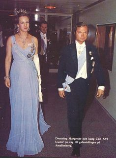 Ready for Royalty: Photo The Queen of Denmark with her cousin, the King of Sweden