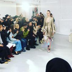 @annesofiemadsenstudio #fashion #show #defile #paris #fashionweek @parisfashionweek @totem_fashion #CollezioniDonna #aw1718 @karolina_trawinska  via COLLEZIONI MAGAZINE OFFICIAL INSTAGRAM - Celebrity  Fashion  Haute Couture  Advertising  Culture  Beauty  Editorial Photography  Magazine Covers  Supermodels  Runway Models