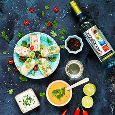 Vietnamilaiset kevätrullat ja raikasta valkkaria Spring Rolls, Budapest, Sweet, Food, Candy, Egg Rolls, Meals, Yemek, Eten