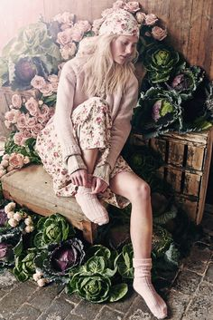 Cabbages & Roses – Spring 2015 Lookbook | Shabby Chic Mania by Grazia Maiolino