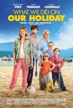 What We Did On Our Holiday (July 10, 2015) A comedy movie directed by Guy Jenkin, written by Andy Hamilton/Guy Jenkin. Stars: Rosamund Pike, Billy Connolly, David Tennant, Celia Imrie, Ben Miller. Abi and Doug McCleod decided to end their marriage. The end comes at the start of a trip to the Scottish Highlands, celebrating Doug's dad's birthday. The couple begs the children not to talk about the separation. All plans quickly go awry in this journey of life, love and laughter.