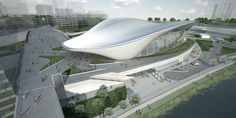 Gallery of London Aquatics Centre for 2012 Summer Olympics / Zaha Hadid Architects - 37