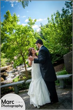 Amberle and Matt's summer wedding at Frederik Meijer Gardens in Grand Rapids, MI. [Marc Photography]