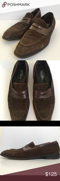 bc26c8a9214409 Fratelli Rossetti suede loafers Chocolate brown suede loader by Fratelli  Rossetti. Used Fratelli Rossetti Shoes Loafers   Slip-Ons