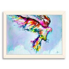 Americanflat Faust by Marc Allante Framed Graphic Art Frame Color: