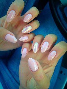 by Marlena Karlak - Follow us on Pinterest. Find more inspiration at www.indigo-nails.com #nailart #nails #indigo #mermaid #pink