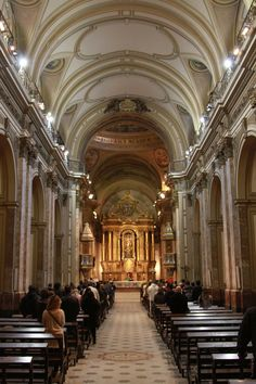 Catedral Metropolitan, located in Plaza de Mayo