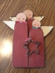3 wooden angels $20  shipping is available and we now accept paypal.  www.bluebarnwoodcrafters.weebly.com or www.facebook.com/bluebarnwoodcrafters
