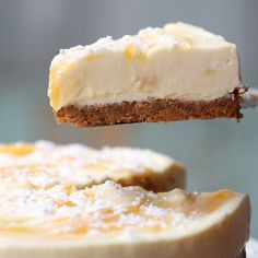 When life gives you lemons.make lemonade cheesecake! When life gives you lemons.make lemonade cheesecake! Peanut Butter Filling, Butter Pie, Baking Recipes, Cake Recipes, Dessert Recipes, Tasty, Yummy Food, Mini Chocolate Chips, Food Cakes
