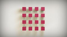 Hydraulic Logocubes Animation  You can download the c4d project file here: http://www.kenottmann.com/category/downloads  #c4d #cinema4d #mograph #animation #design #3D #motiongraphics
