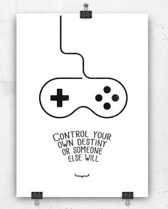 Control your own destiny or... print by crashontrash on Etsy