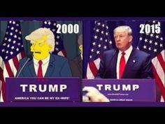'Regreso al futuro II' predice la victoria de Donald Trump, será presidente de EE.UU. - YouTube