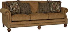 Mayo Furniture 4300F Fabric Sofa - Hardy Spice