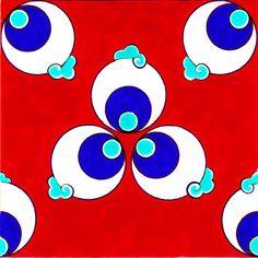 Cintemani Tiles C003Tile Sizes: 12x12 cm - 20x20 cm - 23,5x23,5 cm - 29,5x29,5 cm - 41,5x41,5 cm
