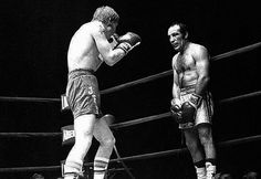 Nicolino Locche (September 2, 1939 – September 7, 2005) was an Argentine boxer and WBA Light Welterweight champion. He was one of the greatest defensive boxing geniuses. His boxing style made him a legend. He possessed uncanny reflexes that allowed him to stand in front of his opponents with his hands literally at his sides, behind his back or even resting on his knees as he slipped, bobbed and weaved to avoid his opponent's punches.
