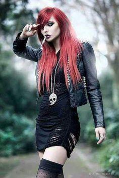 More of the kinda Modern goth...