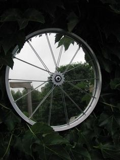 Single Mirror - bicycle parts - the recycler