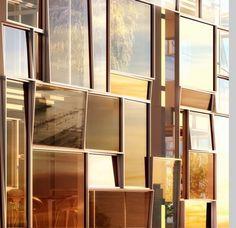 Reflective glass panels :-) Image via Designed for Life.